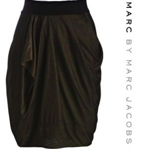 Marc By Marc Jacobs bandaged waist Shimmer Skirt